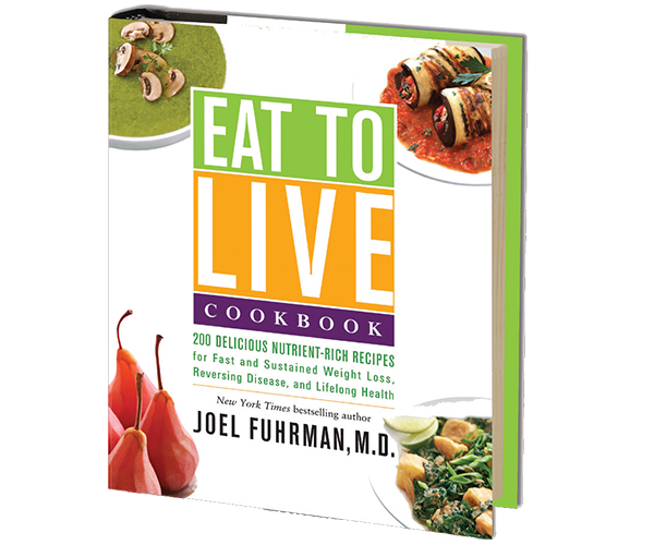 With 200 Nutritarian recipes, Dr. Fuhrmans Eat to Live Cookbook makes it easy to create healthful meals to help you lose weight and reverse disease.