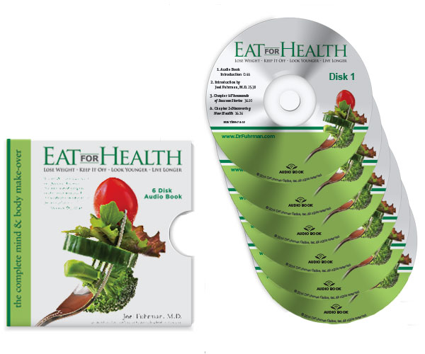 In his book Eat for Health, Dr. Fuhrman provides a plan to adopt his diet gradually, allowing you to slowly transition to a complete Nutritarian lifestyle.