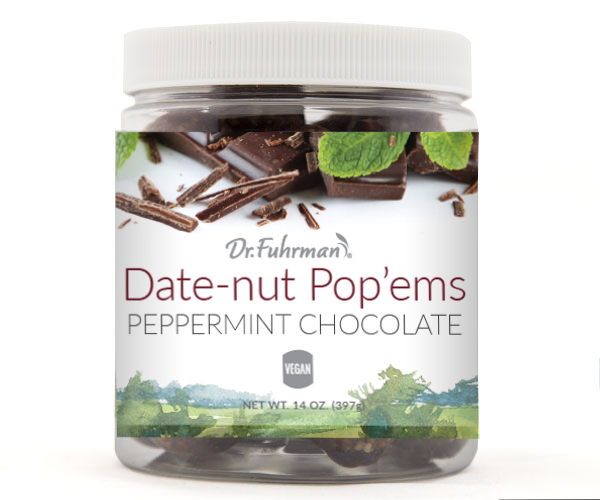 Cool peppermint and rich cocoa add a decadent and refreshing flavor to this wholesome treat, which features organic dates, raw nuts and raw seeds.