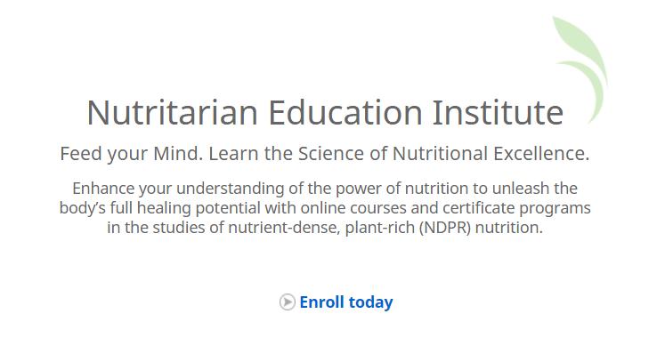 Nutritarian Education Institute | DrFuhrman.com