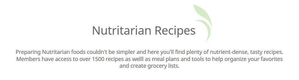 recipes drfuhrman com