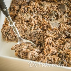 Greens and Wild Rice Casserole