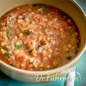 Tuscan Soup with Cannellini Beans and Lentils