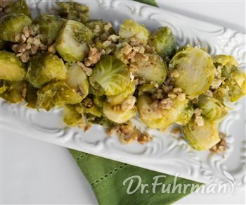 Brussels Sprouts with Orange and Walnuts