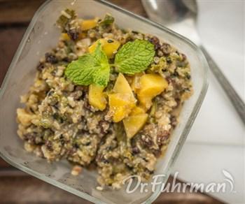 Mango, Coconut and Quinoa Breakfast Pudding   DrFuhrman.com