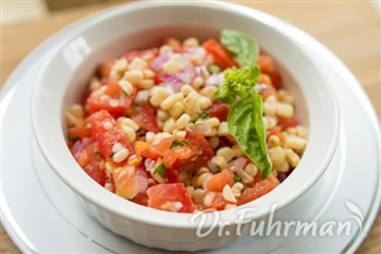 Summer Corn and Tomato Sauté