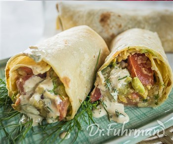 Vegetable Garbanzo Wraps