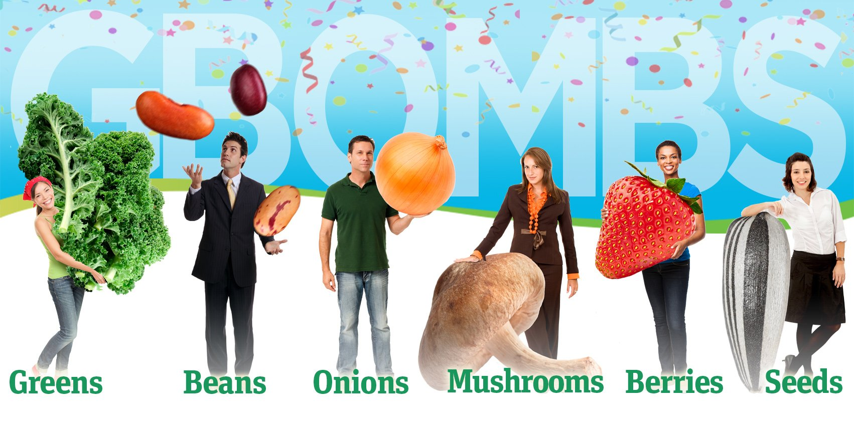 """The Healthiest, Anti-Cancer Foods: G-BOMBS. """""""