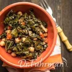 Swiss Chard with Chickpeas and Tomatoes