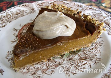 Delicious Guilt-Free Pumpkin Pie w/ Oat Pie Crust
