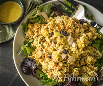 Curried Cauliflower and Chickpea Salad
