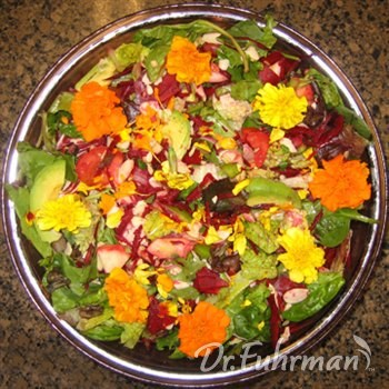 Beet and Fresh Herb Vegetable Salad w/ Fruit and Nuts