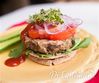 Quick Turkey Bean Burgers