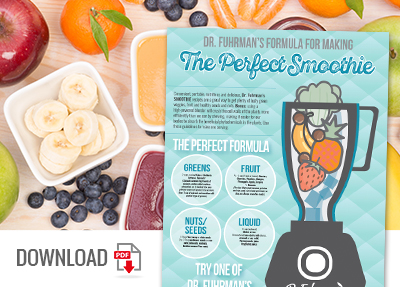 Download The Perfect Smoothie Infographic