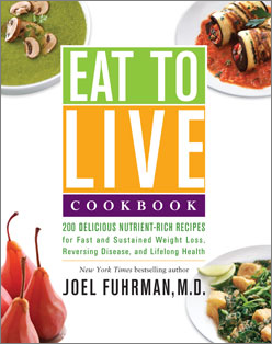 Eat to Live Cookbook cover image