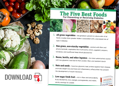 Download the Best Foods for Diabetes Infographic