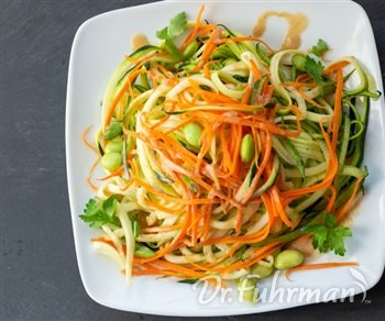 Asian Ginger Lime Zoodles