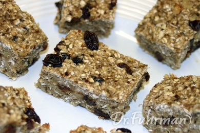 Yummy Banana Oat Bars